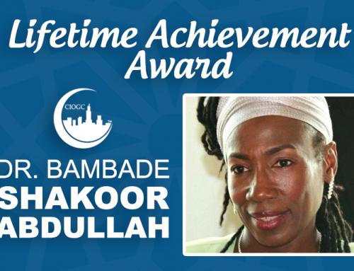 CIOGC Lifetime Achievement Award: Dr. Bambade Shakoor-Abdullah