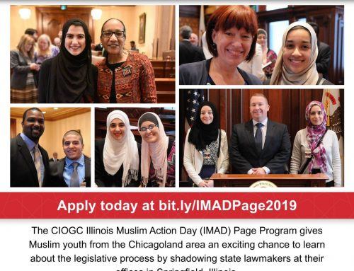 Apply for the Illinois Muslim Action Day (IMAD) Page Program