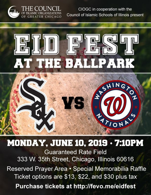 Join us for Eid Fest at the Ballpark on June 10! | CIOGC