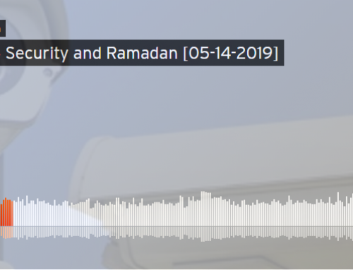 CIOGC Executive Director G. Abdullah Mitchell shares about mosque security during Ramadan