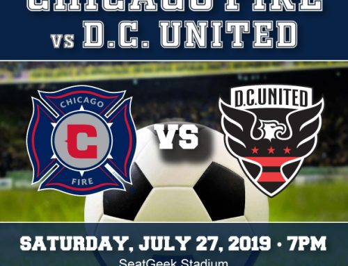 Join us for an evening with the Chicago Fire Soccer Club on July 27!